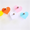 Large Pastel Heart Tags {25} | Blank Heart Tags | Merchandising Tags Labels