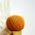 Baker's Twine {12ply} Yellow + Red {20.0m} |  DIY Supplies | Striped String
