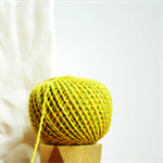 Baker's Twine {12ply} Yellow + Lime {20.0m} |  DIY Supplies | Striped String