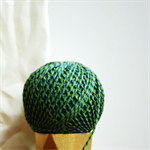 Baker's Twine {12ply} Green + Blue {20.0m} |  DIY Supplies | Striped String