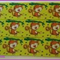 1 Metre, Monkey, Jungle, Grosgrain Ribbon, 7/8, 22mm, Crafts