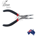 Round nose wire cutter pliers