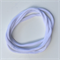 10 Pieces - White Stretch Nylon Headbands 8mm Thin One Size Fits All  30-34cm