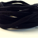 10 Pieces Black Stretch Nylon Elastic Headbands 8mm 30-34cm