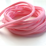 10 Pieces - Pink Stretch Nylon Headbands 8mm Thin One Size Fits All 