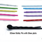 50 mm/2 inches Bobby Pins with 8mm Flat Glue Pad  100 pcs Choose Colour