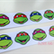 "Ninja Turtle Grosgrain Ribbon - Hair Bow Cake Ribbon 7/8"" 22mm 2mtrs"