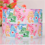 "2 metres Care Bears Grosgrain Ribbon Hairbow Cake Ribbon 7/8"" 22mm Baby Shower"