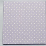 Cotton spotted fabric