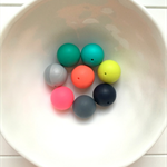 Gumball Silicone Beads 20mm x 10
