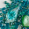 Mixed bead pack- Green