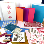 Card Making Pack- Pinks and Blues