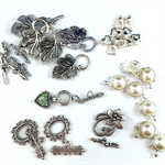 Clasps Findings Pack - Silver Plated