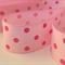 "2 Yards Pink Polka Dot Grosgrain Ribbon 7/8"" 22mm FREE POSTAGE"