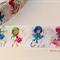 "2 Yards Fairies Grosgrain Ribbon Hairbow Cake Ribbon 1"" 25mm FREE POSTAGE"