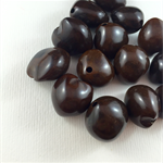 14 Large Nut-shaped Beads