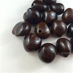 14 Large Nut-shaped Beads