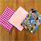 3 x Fat Quarters of Fabric - Blues and Pinks