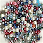 200+ glass pearl beads