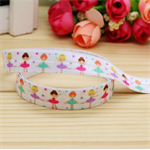 Ballerinas FOE- 5/8 inch 16mm - Foldover Elastic Hair Ties Headbands Free Post