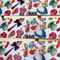 "2 Yards Alice in Wonderland Grosgrain Ribbon Hairbow Cake 1"" 25mm FREE POSTAGE"