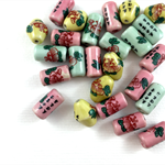 Mixed bead pack- ceramic pastels