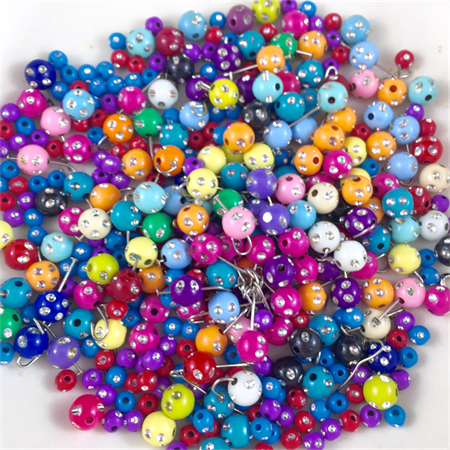 Large pack of mixed Acrylic beads