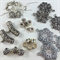 Bails and connectors Findings Pack - Silver Plated