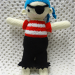 Crochet Pattern PDF - Pirate