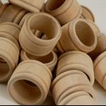 Wooden Napkin Rings (25)