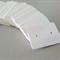 50 Kraft Earring Display Cards WHITE
