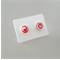 50 Kraft Earring Display Cards WHITE