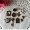 9 pcs Vintage Style Charms - Alice in Wonderland Theme