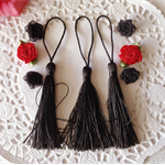 3 x Tassles plus Flower embellishments