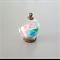 Glass Globe Pendants 20mm set of 6 Antique Bronze