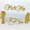 DIY Cake Topper, Cake Pick, Flower Decor for a Wedding, Engagement or Valentine