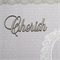 Cherish Scrapbooking Laser Cut Word for a Love-themed DIY Craft Project