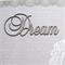 Dream Laser Cut Word for Children or Teenager Scrapbooking or DIY Craft Project