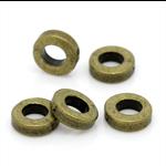 20 Antique Bronze Spacer Beads 6mm