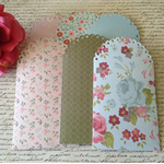 6 x Gift Card Envelope