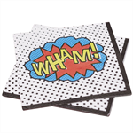 3 Paper Napkins for Decoupage / Tea Parties / Weddings - Super Hero