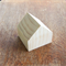 WOODEN HOUSE SHAPED BLOCKS, Untreated 7cm Pine Blanks Toymaking, Set of 3
