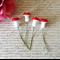 4 x Miniature Mushrooms Fairy Garden Accessory