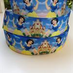 """Snow White Grosgrain Ribbon - Hair Bow Supplies Ribbon 1"""" 25mm"""