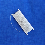 Elastic ~ White Shirring