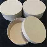 Round Craft Boxes