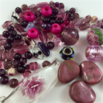 Mixed bead pack- Pink