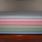 Summer cotton pin spot fabric