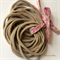 10 Thin Nude Nylon Elastic Headbands 26cm 6mm Better fit for newborn babies