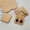 10 Kraft Earring Display Cards & Covers